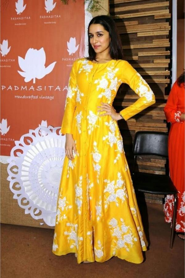 81277aa925 Buy Silk Party Wear Anarkali Suit in Yellow Colour Online in India ...