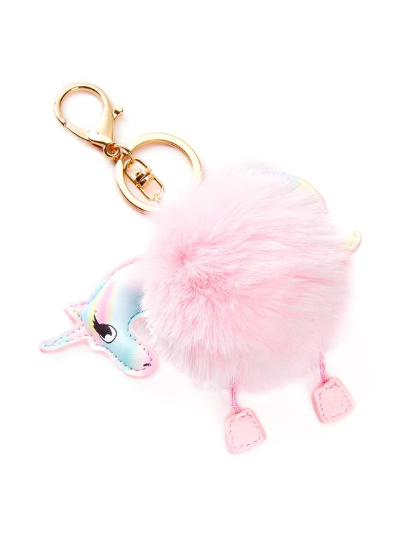 488601bb21 Buy Unicorn Keychain With Pom Pom Online in India at cooliyo ...
