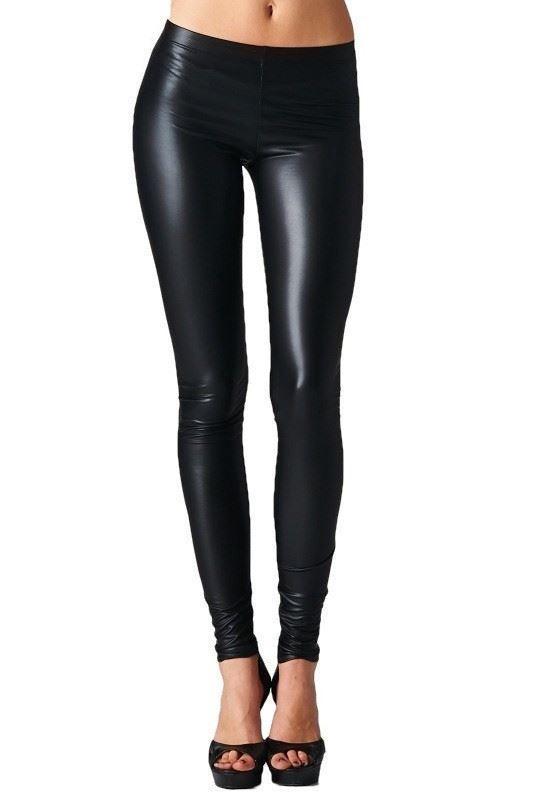 5388c2a953058 Buy Black Spandex Shiny Leggings Online in India at cooliyo ...