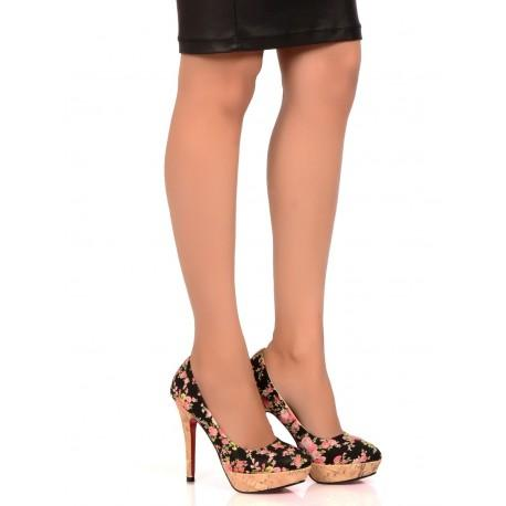ba1e678aff20 Buy Floral Pattern High Heel Party Pumps Online in India at cooliyo ...
