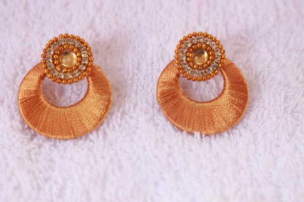 Buy Gold Chandbali Earrings Online In India At Cooliyo Coolest