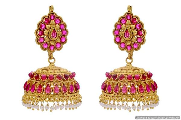 buy royal jhumka earrings online in india at cooliyo coolest