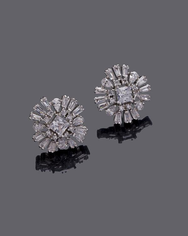 37b529742 Buy Stud Earrings With Sparkling Gems Online in India at cooliyo ...