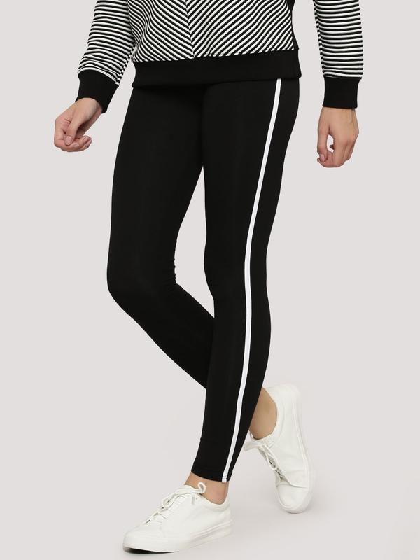 bbc1611cf495a Buy Single Stripe Leggings Online in India at cooliyo : coolest ...