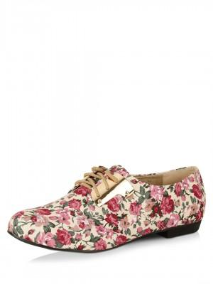 70964d2000ca Buy Floral Print Flat Shoes Online in India at cooliyo   coolest ...