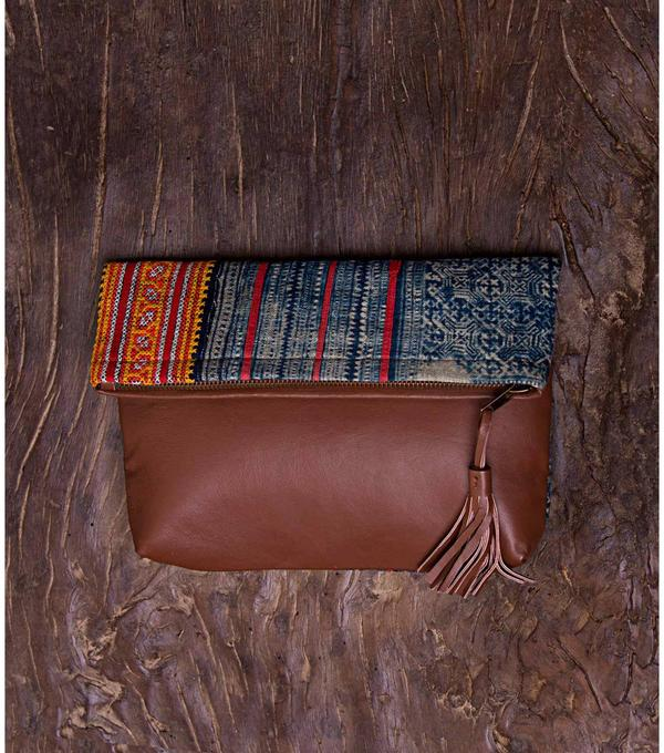 Hmong Fold Clutch Bag