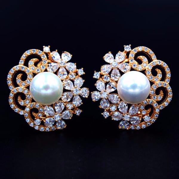 ea3331807c0 Buy Super Big Pearl Stud Earrings Online in India at cooliyo ...