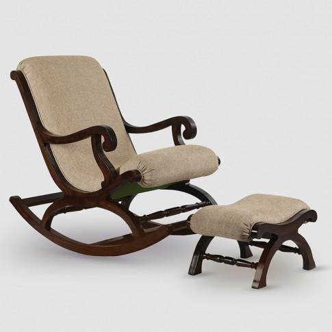 Incredible Teak Wood Rocking Chair With Foot Rest Dailytribune Chair Design For Home Dailytribuneorg