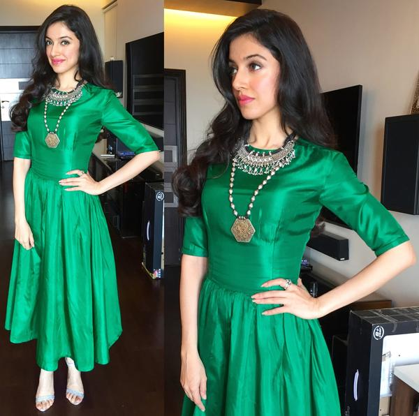 Buy Silk Plain Green Long Anarkali Suit Online in India at cooliyo ...