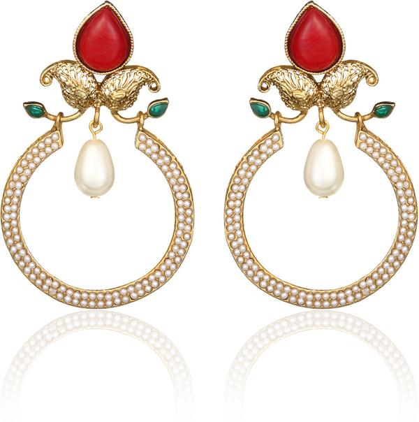 Buy zaveri pearls zpfk302 alloy chandelier earring online in india zaveri pearls zpfk302 alloy chandelier earring image mozeypictures Image collections