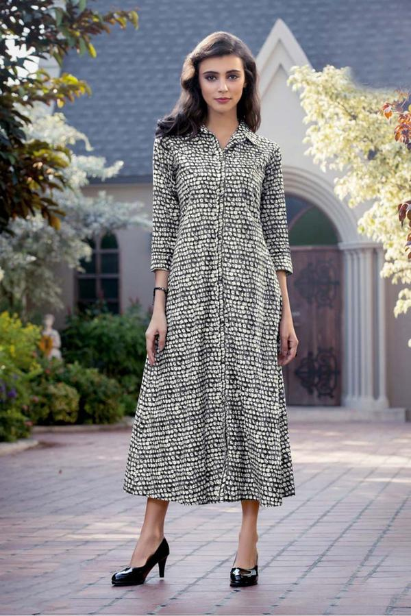 87e7366913 Buy Plus Size Cotton Kurti In Grey Colour Online in India at cooliyo ...