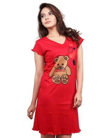 b3b473792a Buy Clifton Womens Long Top Nightwear Online in India at cooliyo ...