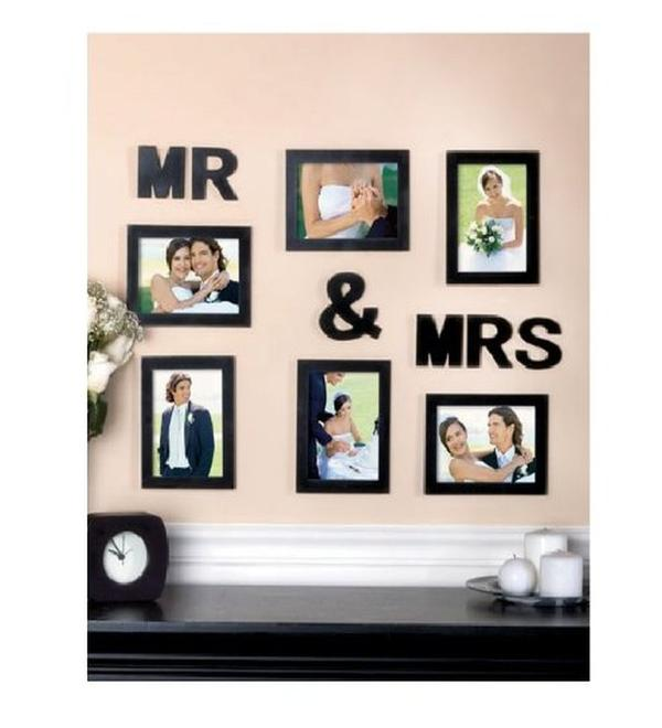 Buy Blacksmith Mr Mrs Black Photo Frame Online In India At Cooliyo