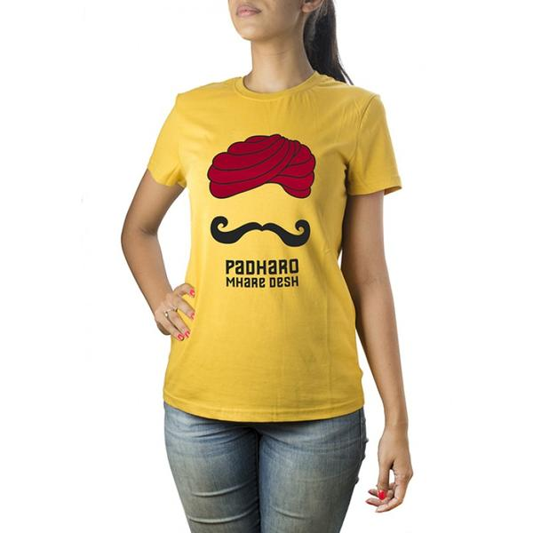 2e054f82df5 Buy Padharo Ladies  T-Shirt Online in India at cooliyo   coolest ...
