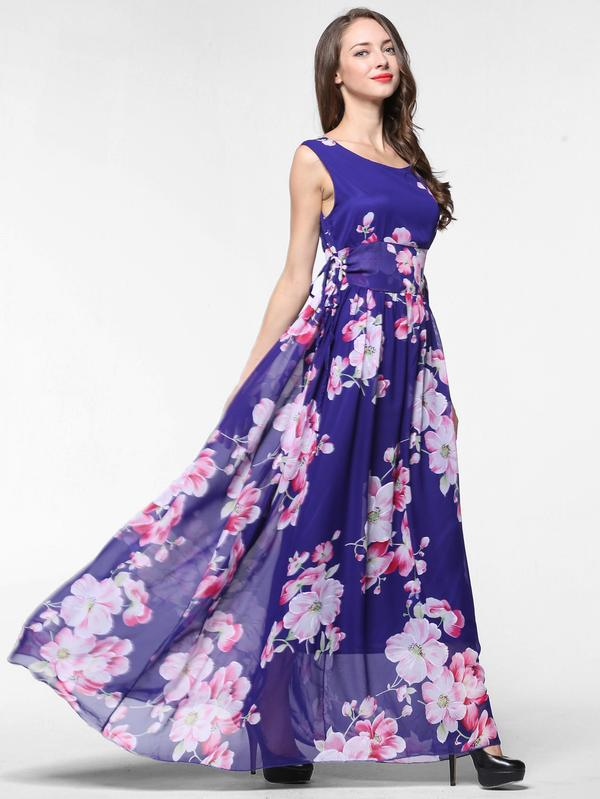 13647e81486 Buy Floral Print Random Maxi Dress Online in India at cooliyo ...