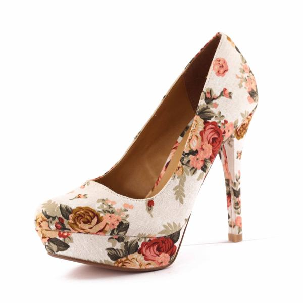 53ea5e75d60dd0 Buy Floral print heels Online in India at cooliyo : coolest products ...