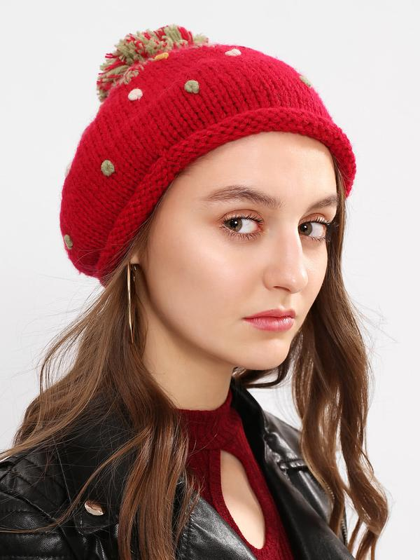 Buy Pom Pom Knit Beanie Hat Online in India at cooliyo   coolest ... 441a3d605d1