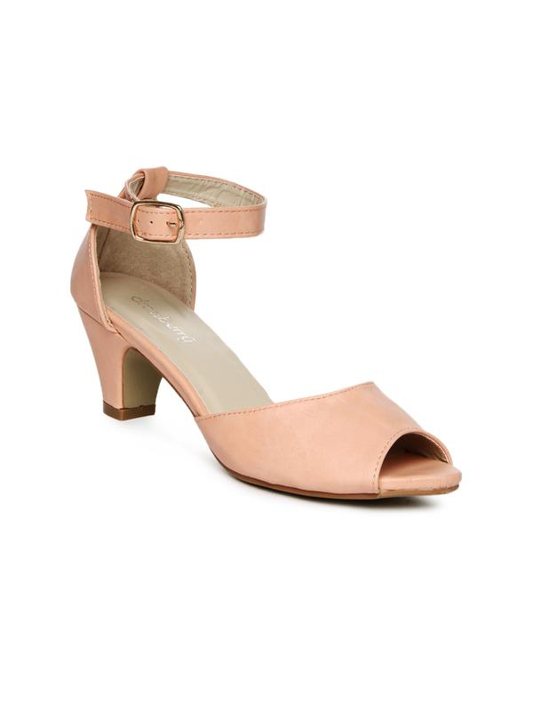 92a5a20f2c31 Buy DressBerry Women Peach Coloured Sandals Online in India at ...