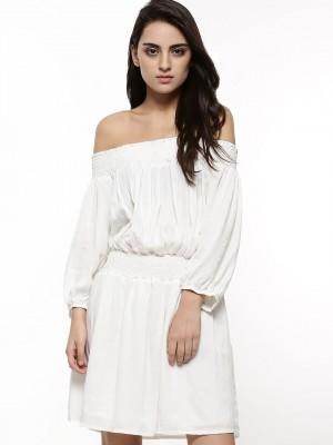 a373aa328c76 Buy Off-Shoulder Mini Dress Online in India at cooliyo   coolest ...