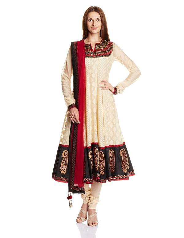 a110f8841d Buy Biba Women's Cotton Anarkali Salwar Suit Online in India at ...