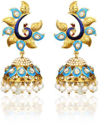 Buy zaveri pearls alloy chandelier earrings online in india at zaveri pearls alloy chandelier earrings image aloadofball Choice Image