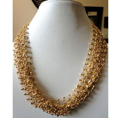 Buy Glitter Gold Necklace line in India at cooliyo coolest