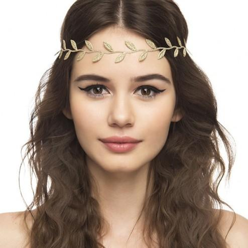 Buy Roman Goddess Leaf Headband (Gold) Online in India at cooliyo ... fecb0763ab8