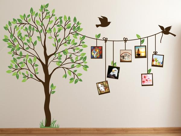 buy family photo tree creative wall decal online in india at cooliyo