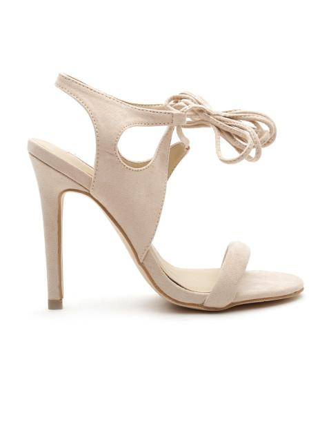 90fbfc19133 Buy FOREVER 21 Women Nude-Coloured Stilettos Online in India at ...