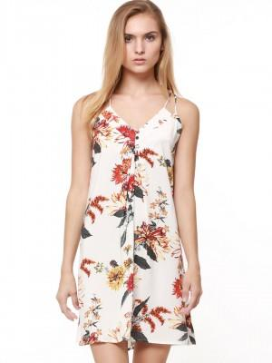 8aba6afc088a Buy Floral Print Cami Dress Online in India at cooliyo   coolest ...