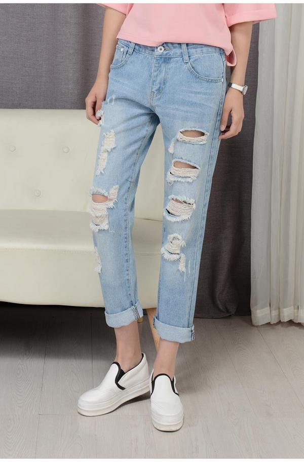e7144cfb0b Buy BF Jeans Slim Fit Torn Pant Online in India at cooliyo : coolest ...