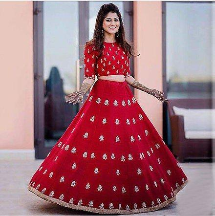 0433c94d0a1 Buy Fashionuma Designer Bridal Bangalori Silk Lehenga Choli Online ...