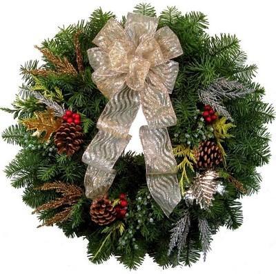 Christmas Tree In India.Christmas Tree Shops Merry Christmas Wreath