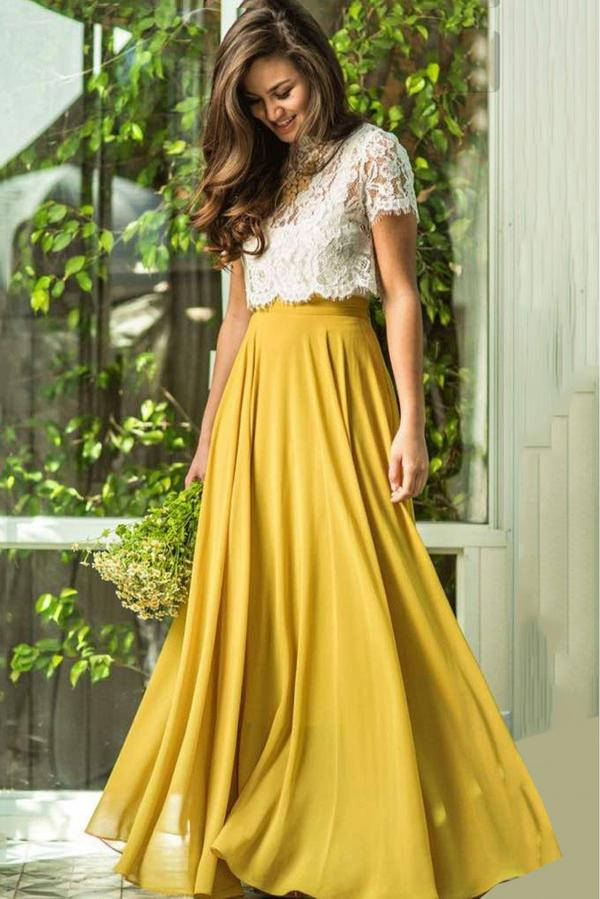5e1dbc9251 Buy Georgette Lehenga Choli In Mustard Colour Online in India at ...