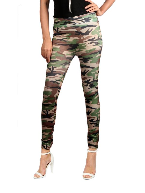 a13ebcd53b35e5 Buy MILITARY PRINT CAMOUFLAGE LEGGINGS Online in India at cooliyo ...
