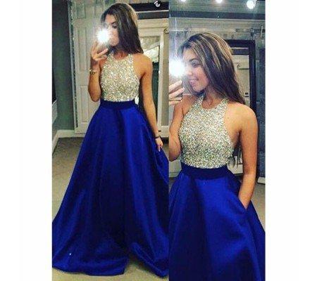 3138946352 Buy Taffeta Silk Sequence Work Crop Top Lehenga Choli (Royal Blue ...