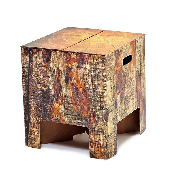 Enjoyable Tree Trunk Stool Caraccident5 Cool Chair Designs And Ideas Caraccident5Info