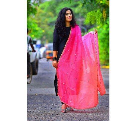 2171c9de99 Designer Black Cotton Salwar Dupatta Mirror Work Salwar Suit by  gopinathcollection Image