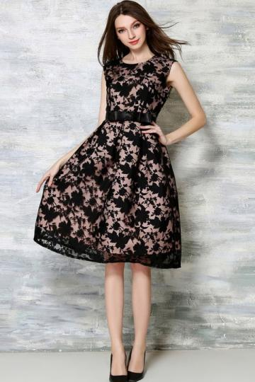 36e2a59f3e47 Buy Floral Printing Lace Dress Online in India at cooliyo   coolest ...
