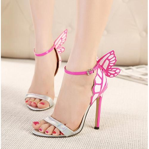 7332f5ed7b5 Buy COLOR BLOCK BUTTERFLY BACK SANDALS Online in India at cooliyo ...