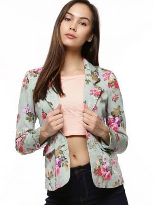 deb797ddcc43 Buy Floral Printed Blazer Online in India at cooliyo   coolest ...
