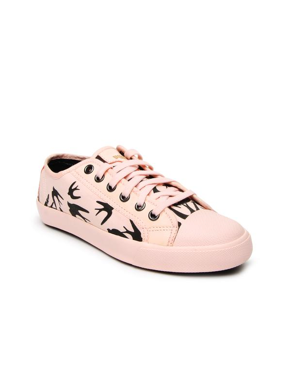 2652dababc03 Buy Puma Women Pink Alexander McQueen Rush Lo Flock Casual Shoes ...