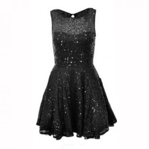 d72e17f2f3c2 Buy Black Bling Dress by Tiarra Online in India at cooliyo   coolest ...
