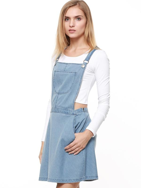 54692d9211 Buy Denim Pinafore Dress Online in India at cooliyo   coolest ...