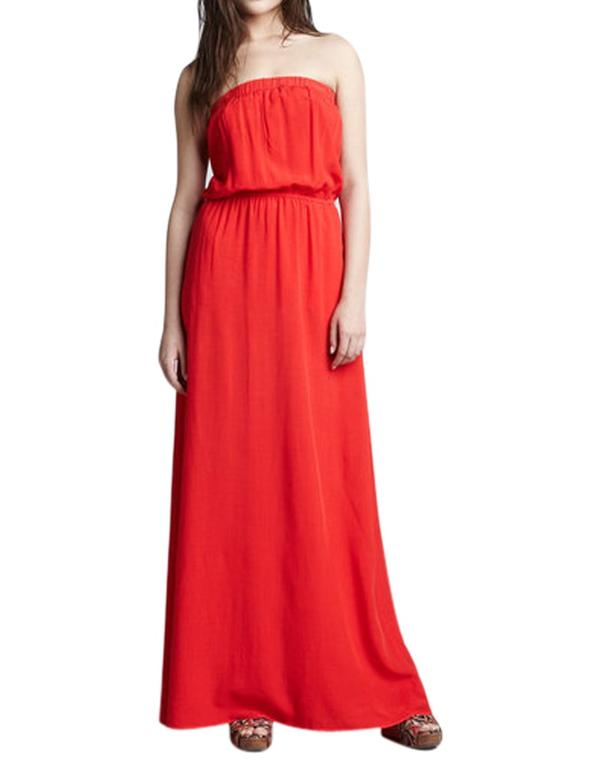 6a0bc17e421 Buy Red Tube Maxi Dress Online in India at cooliyo   coolest ...