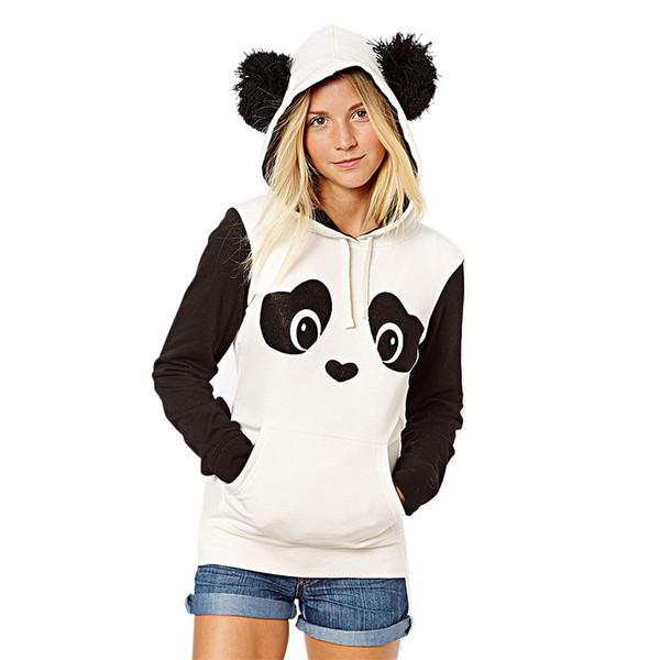 94a82a763cc Buy Winter Women panda hoodie Online in India at cooliyo   coolest ...