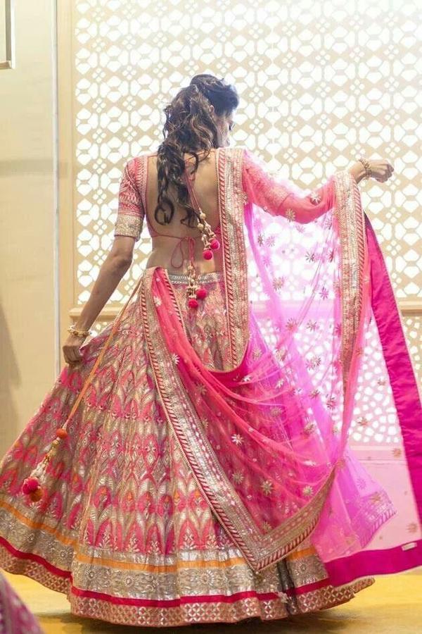 6dc8c3e7d9f Buy Silk Designer Wedding Lehengas Online in India at cooliyo ...