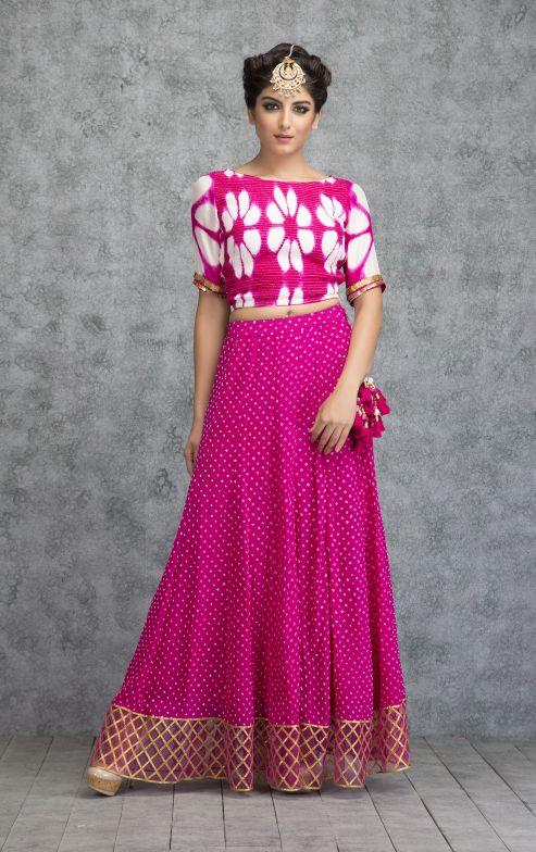 a2971bec0f Buy Empress blush clamp crop top   skirt Online in India at cooliyo ...